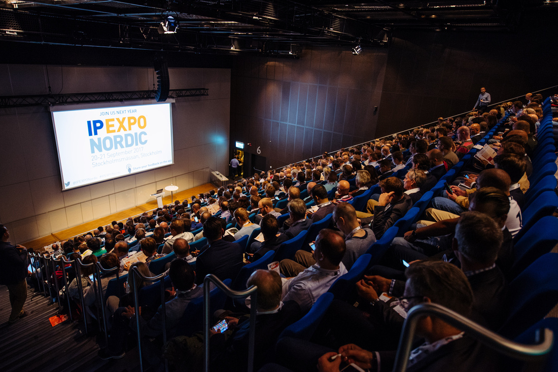 IP EXPO NORDIC 2016, Stockholm, Sweden, Waterfront Congress centre.