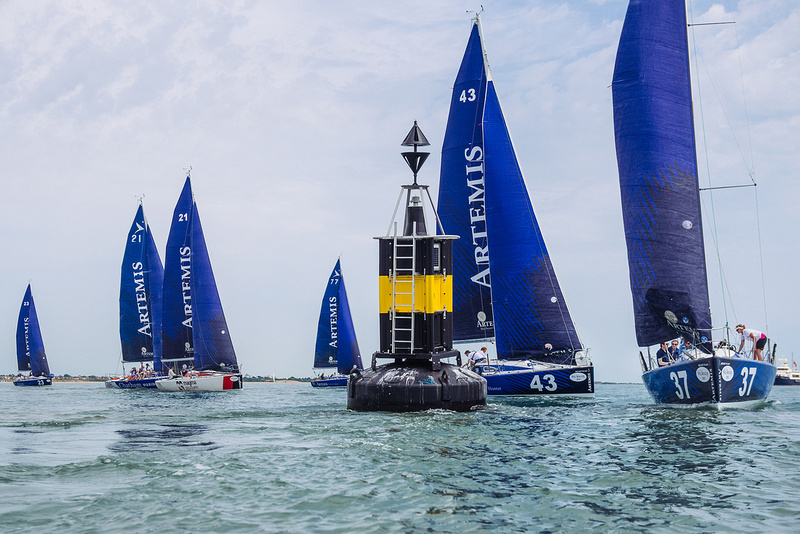Artemis Pol Roger Cup 2015, Cowes, Isle of Wight. Royal Southampton Yacht Club. Isle of Wight Sailing Club. Sailing, Solent