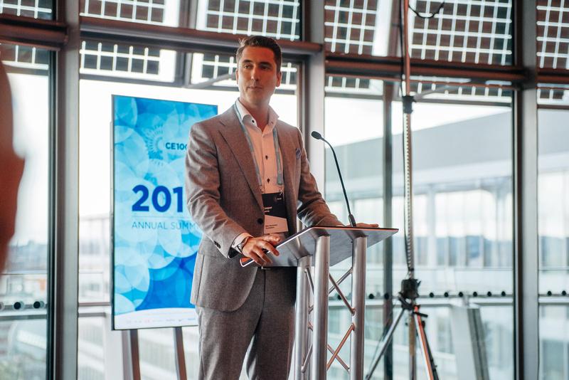 CE100 Summit Reception, London's Living Room, Event Photographer