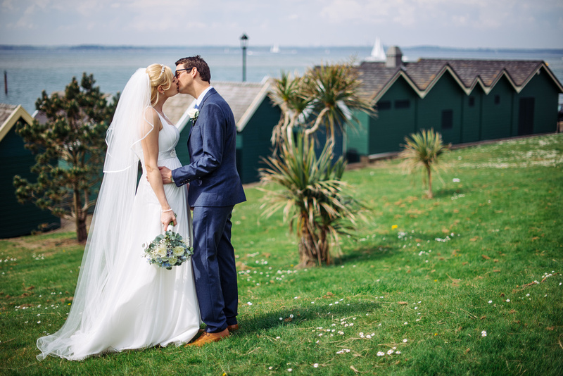Rich & Lucy, Cowes Yacht Haven Wedding, Isle of Wight. Gurnard seafront, iow wedding photography