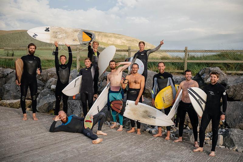 Surfing Stag do in Sligo, Ireland, extreme sports, surfing Ireland,