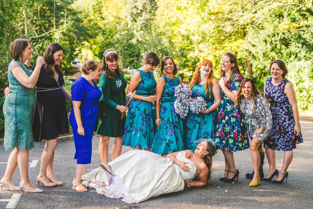 Heather & Tim, Wedding at the White Swan, Arundel. Wedding Photographer