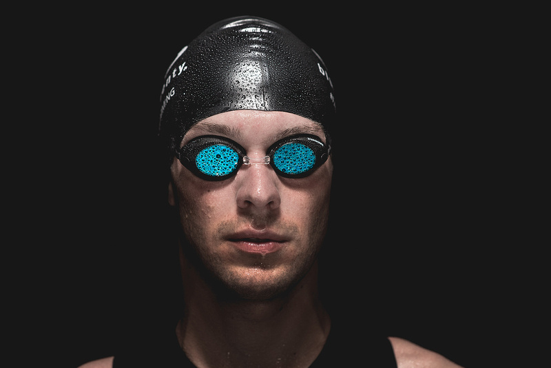 MARK THRELFALL, a friend and professional tri-athlete came in to the studio for a quick lighting test.