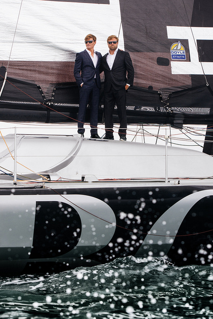 Hugo Boss Artemis Challenge, Cowes Week 2015, Cowes Isle of Wight. Sailing, Oliver Cheshire, Alex Thompson Racing