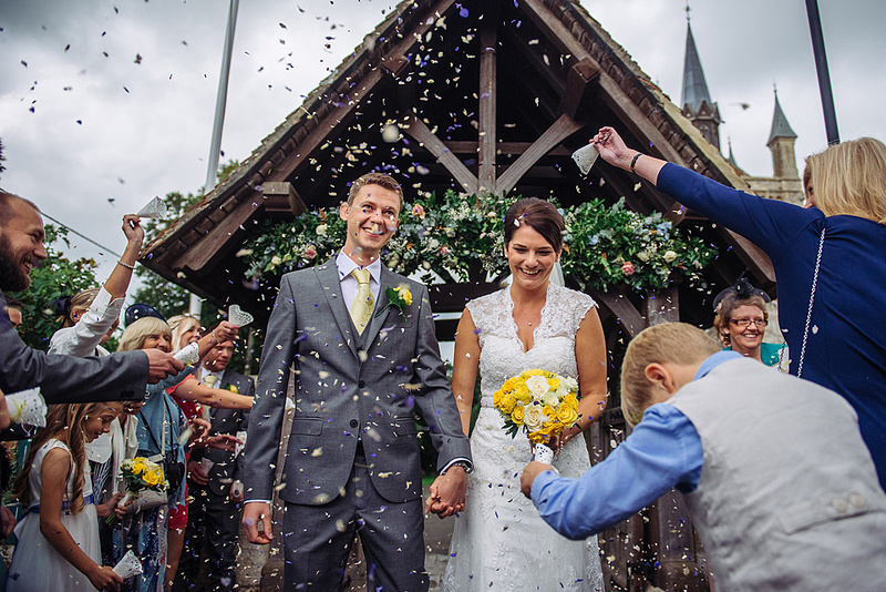 Isle of Wight Wedding at Albert Cottage, and Queen Victoria and Alberts Church St. Mildred's in East Cowes. Wedding Photographer