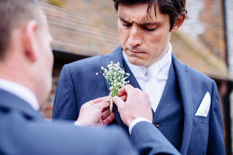 Mr and Mrs Clark - Wedding at Farbridge Barn, Chichester