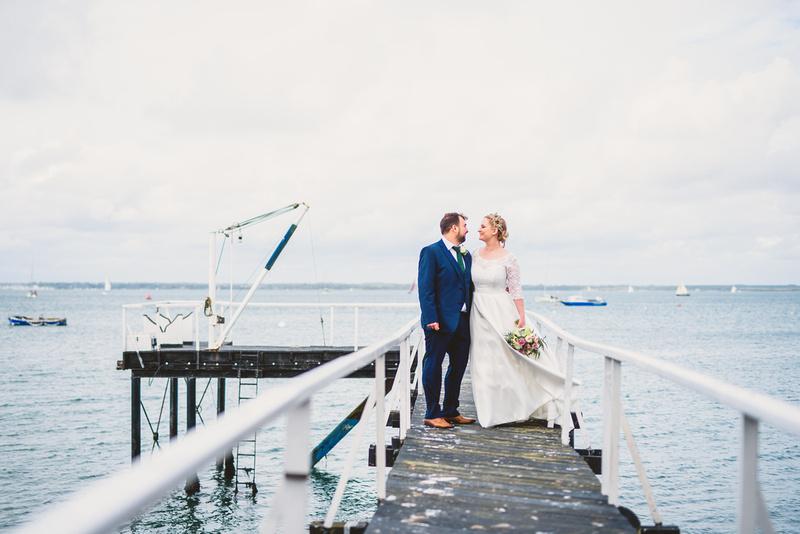 Isle of Wight wedding, All Saints Church Ryde, Yarmouth Pier, Martin Allen Wedding Photographer