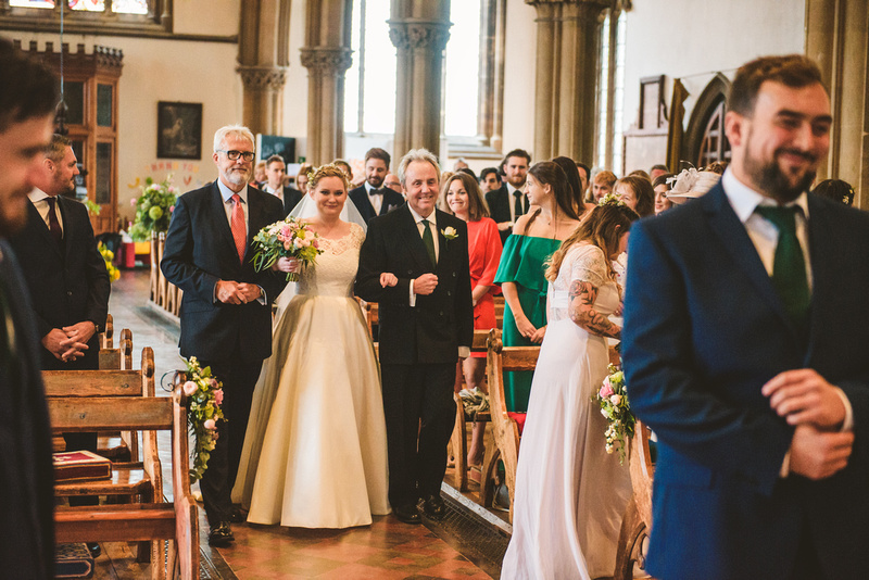 Isle of Wight wedding, All Saints Church Ryde, Yarmouth Pier, Martin Allen Wedding Photographer